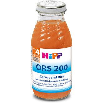 HIPP Бебешка диетична напитка от моркови и ориз ORS 200
